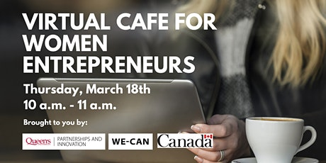 WE-CAN Virtual Cafe for Women Entrepreneurs tickets