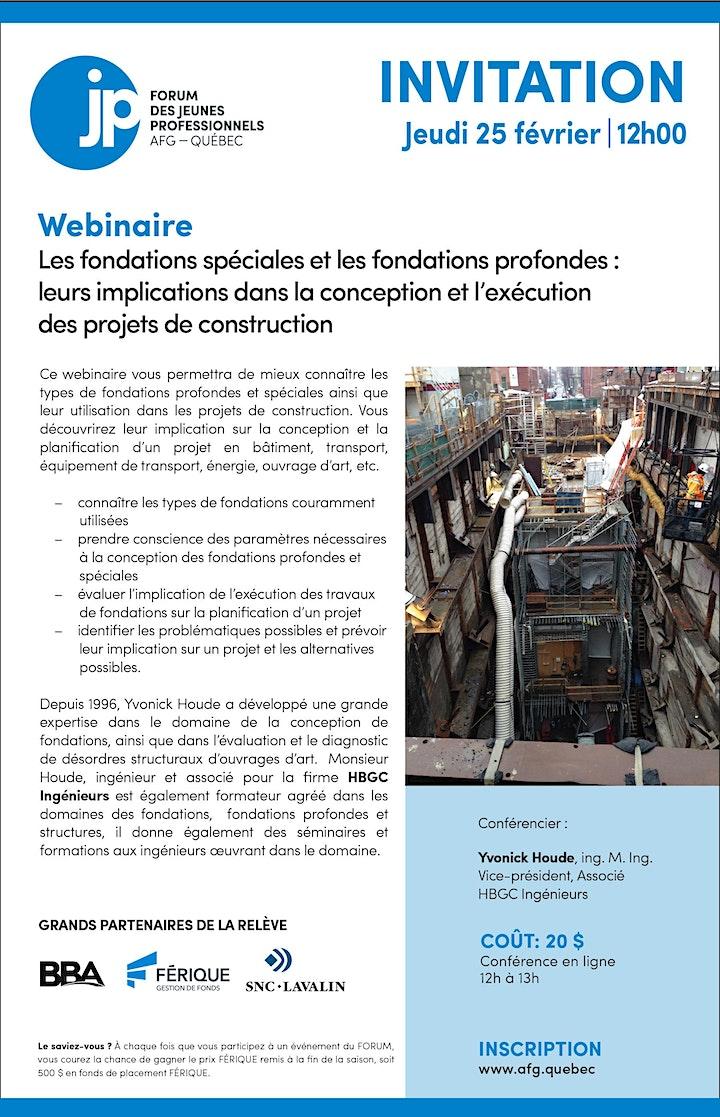 Image de WEBINAIRE - Les fondations spéciales et les fondations profondes