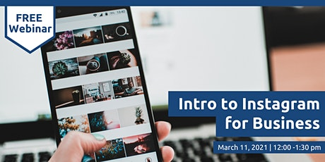 Intro to Instagram for Business tickets