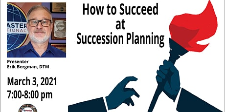 How to Succeed at Succession Planning tickets
