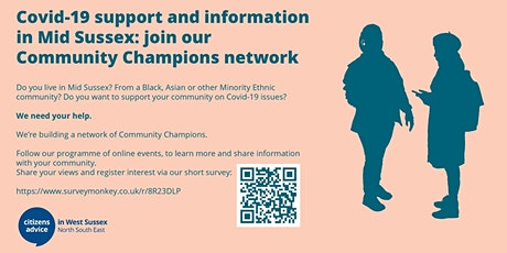 COMMUNITY CHAMPIONS - TRAINING OPPORTUNITIES AND EMPLOYMENT SUPPORT tickets
