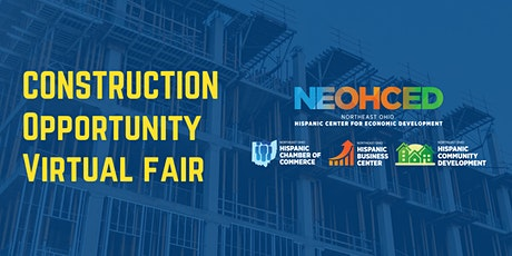 Construction Opportunity Virtual Fair tickets