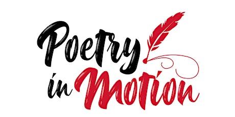 Poetry in Motion: virtual poetry workshop tickets