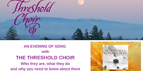 An Evening of Song with Threshold Choir - Free to Attend tickets