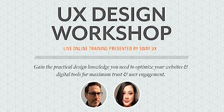 UX Design Workshop biglietti