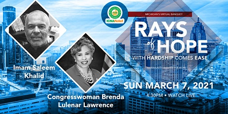 Rays  Of Hope:  With Hardship Comes Ease - Michigan tickets