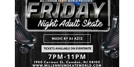 Friday Adult Night Skate tickets
