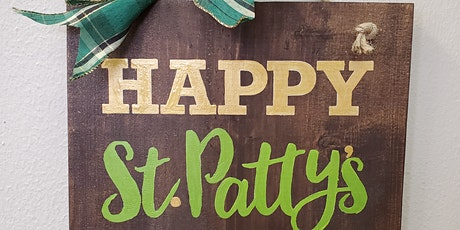 St. Patty's Day Boards! tickets