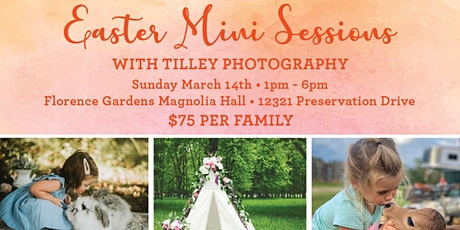 Easter Mini Session + Petting Zoo tickets