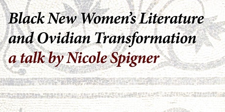Black Classicism Talk with Nicole Spigner tickets