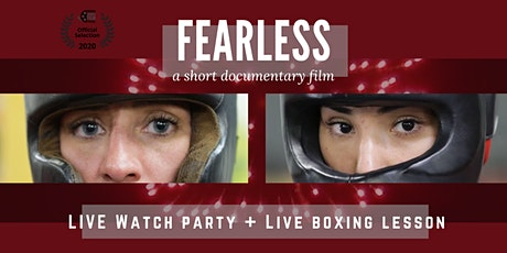 FEARLESS Live Watch Party + Boxing Lesson tickets
