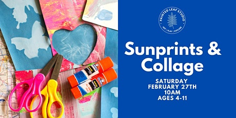 Sunprints and Collage Workshop tickets
