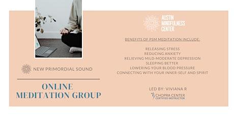 Online Meditation Group tickets