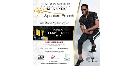 Dallas Southern Pride Introduces: Kirk Myers Signature Brunch tickets