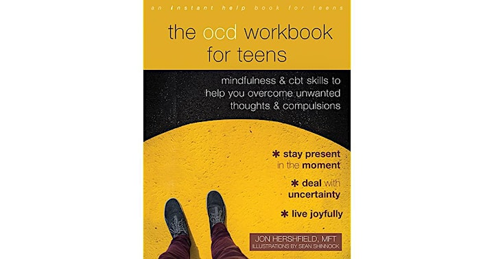 An afternoon with Jon Hershfield: The OCD Workbook for Teens Launch AMA image