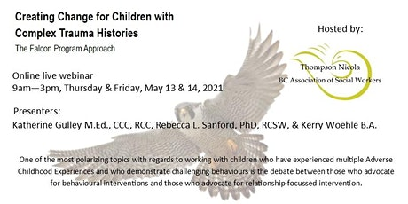 Creating Change for Children with Complex Trauma Histories tickets