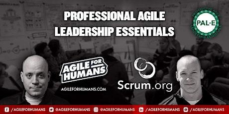 Professional Agile Leadership - Essentials (PAL-E) ONLINE Course (SH) tickets