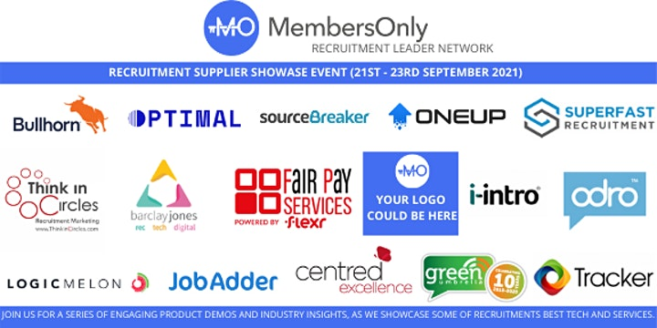 Recruitment Supplier Showcase 2021 (Part 2) image