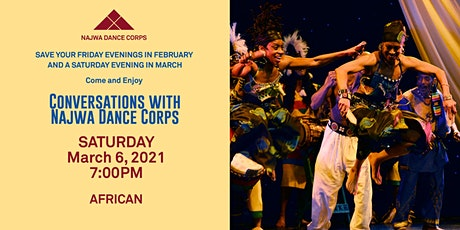 Conversations with Najwa Dance Corps - African tickets