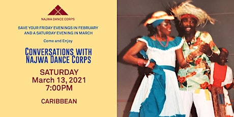 Conversations with Najwa Dance Corps - Caribbean tickets