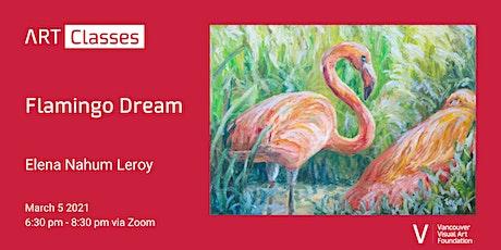Flamingo Dream Art Class tickets