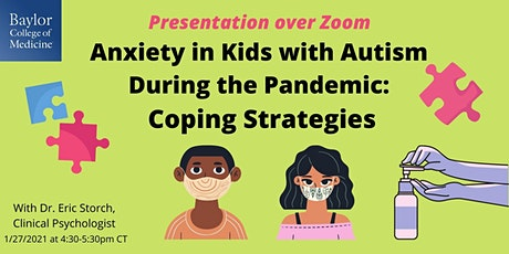 Anxiety in Kids with Autism During the Pandemic: Coping Strategies tickets