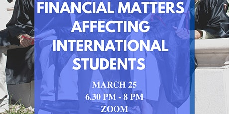 Bootcamp #6: Financial Matters Affecting International Students tickets