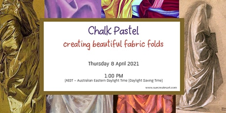 How to create beautiful material using Soft Chalk pastels tickets