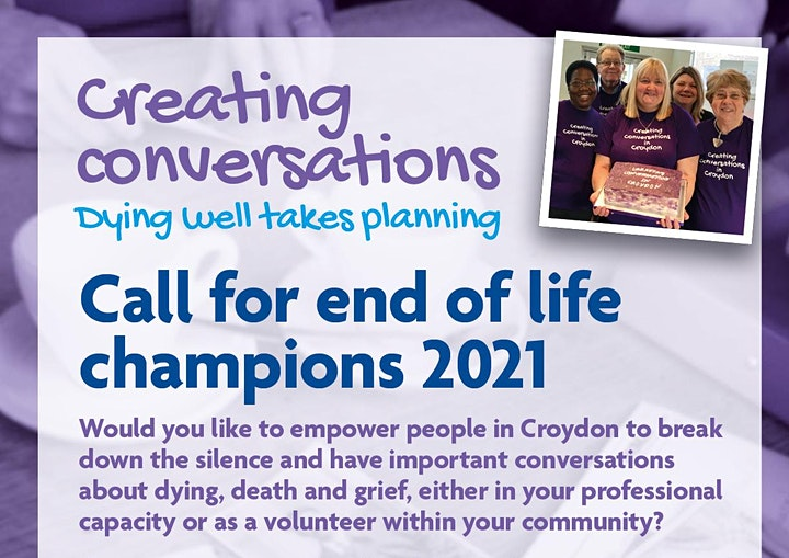 End of Life Champions in LB Croydon image