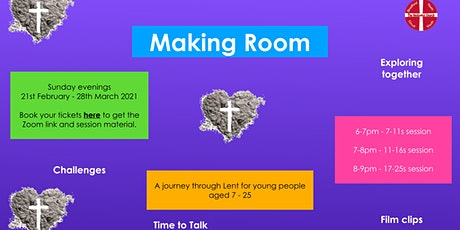 Making Room: a journey through Lent tickets