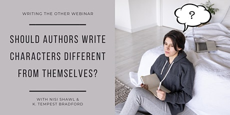Should Authors Write Characters Different From Themselves? | Webinar tickets