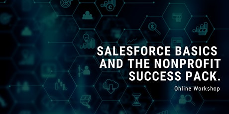 Salesforce basics and the Nonprofit Success Pack for nonprofits tickets