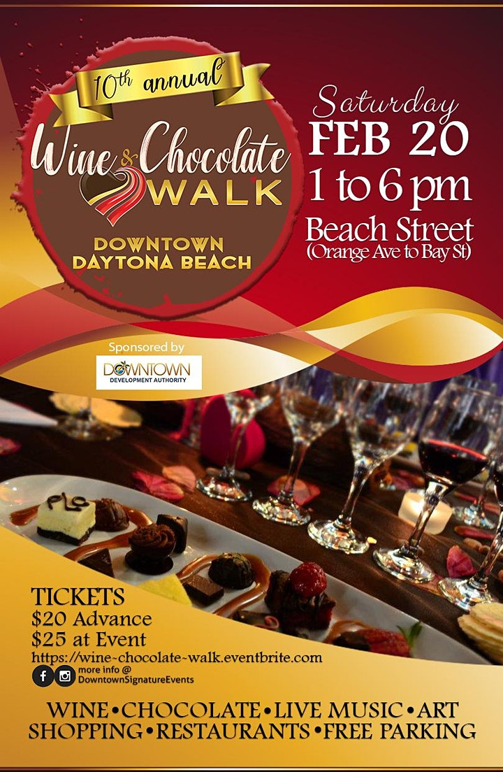 Wine & Chocolate Walk (10th Annual) - A Wine & Chocolate Tasting image