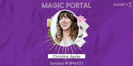 SocietyX :The Magic Portal: Healing Through the Tarot tickets