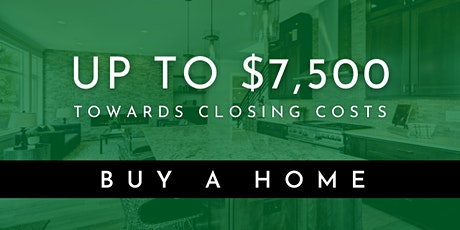 $7,500 in Closing Cost Assistance to Buy a Home in DC, Maryland or Virginia tickets