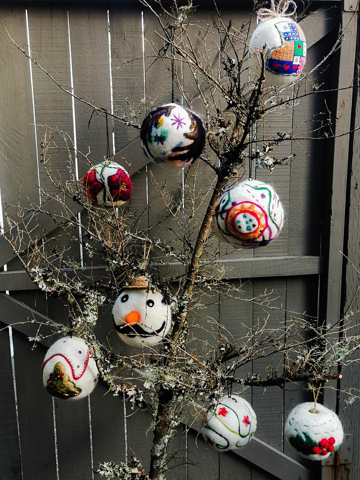 Felting Classes - Felted Easter Eggs image