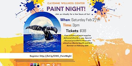 Cayenne Wellness Center Paint Night Event tickets