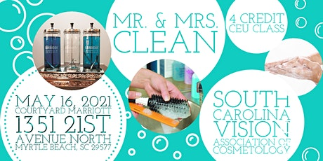 Mr. & Mrs. Clean/Infection Controls tickets
