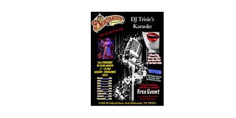 DJ Trixie's Karaoke tickets