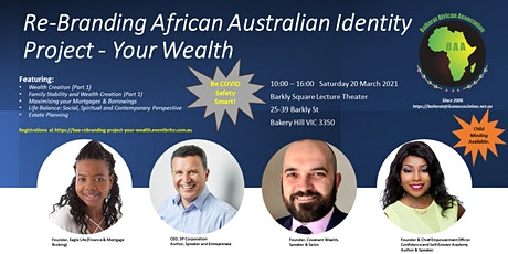 Re-Branding African Australian Identity Project - Your Wealth tickets