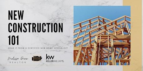 Webinar: New Construction 101 tickets