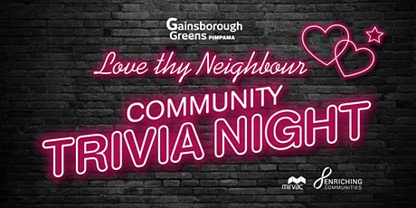 2021 Pimpama Community Trivia Night tickets