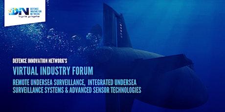 DIN Virtual Industry Forum: Remote undersea surveillance tickets