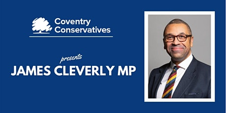 Q&A with Rt Hon James Cleverly MP tickets