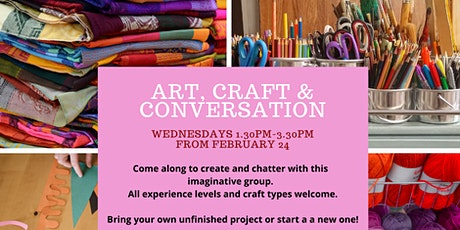 Art, Craft & Conversation tickets