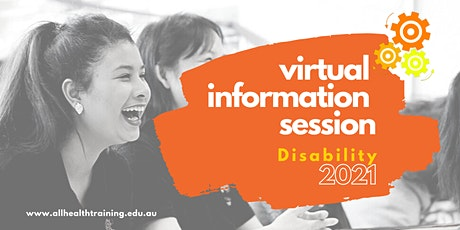 Virtual Information Session | Disability (DSW) Course tickets