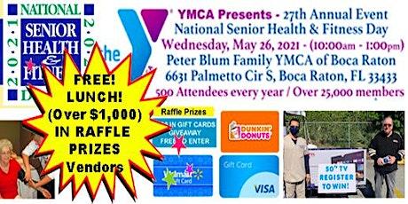 The YMCA Health Expo BOCA RATON, FL - National Senior Health and Wellness e tickets