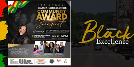 1st Annual Black Excellence Community Award Banquet tickets