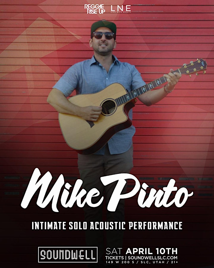 Mike Pinto - Solo Acoustic [6:30PM] image