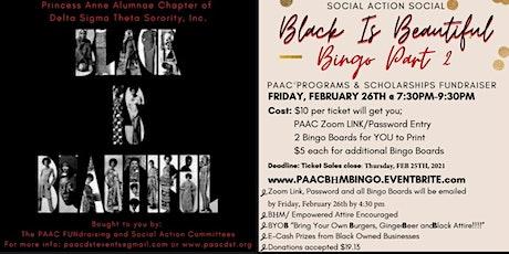 Black is Beautiful - Bingo Part 2 tickets